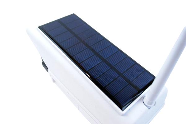 مصباح الطاقة الشمسية على شكل كاميرا