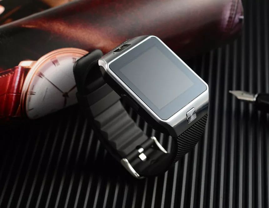 Smart Watch DZ09 أسود