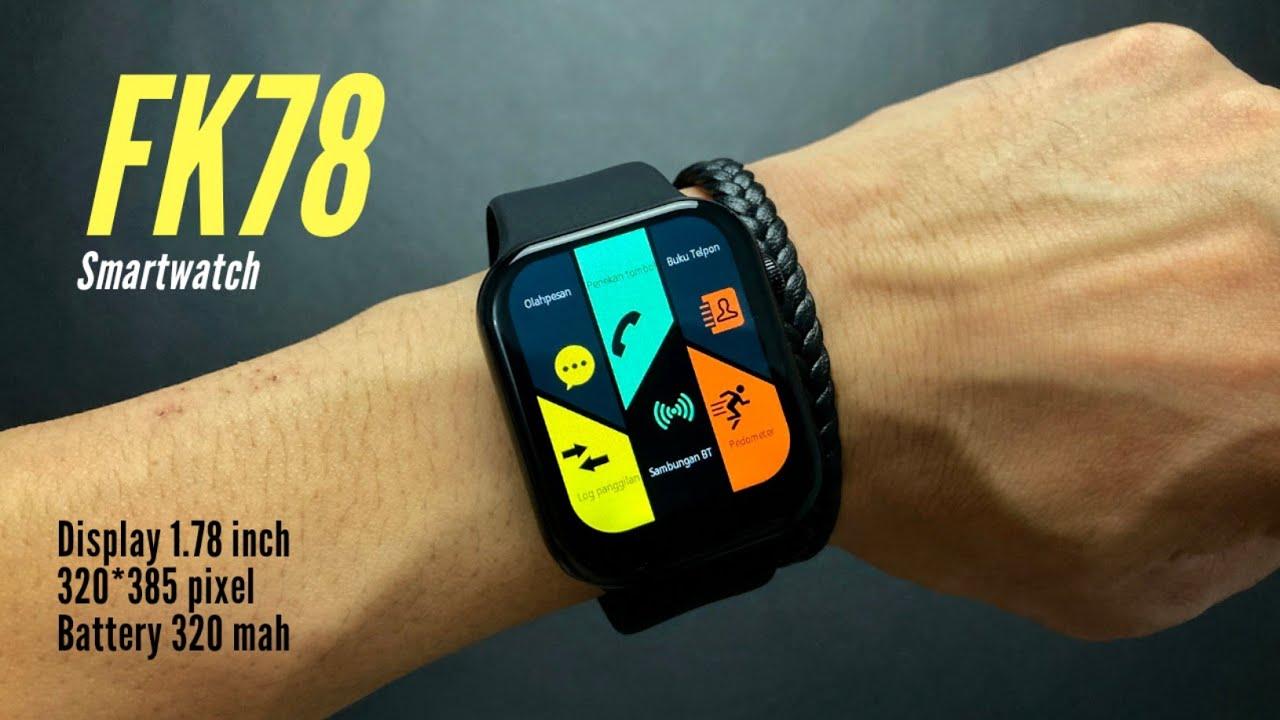 Smart Watch FK78 اسود