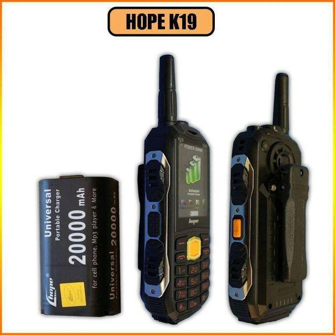 موبايل Hope K19 بطارية 20000 ملي أمبير