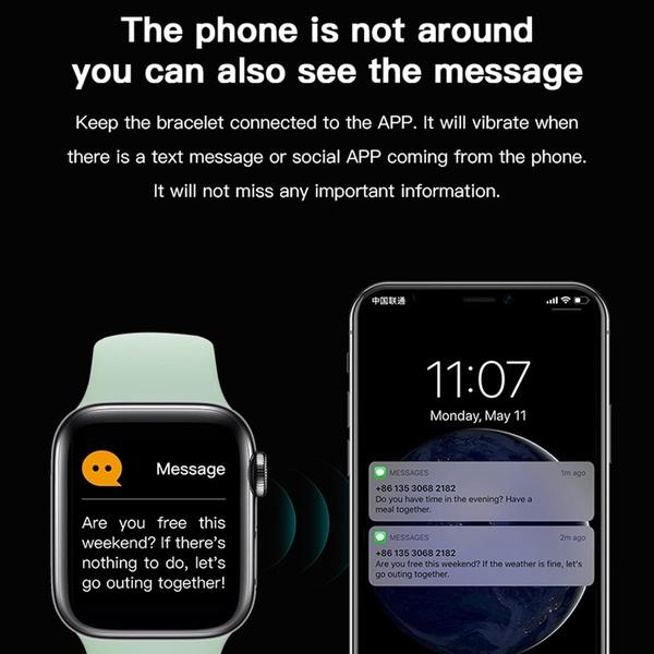 Smart Watch X7 أسود