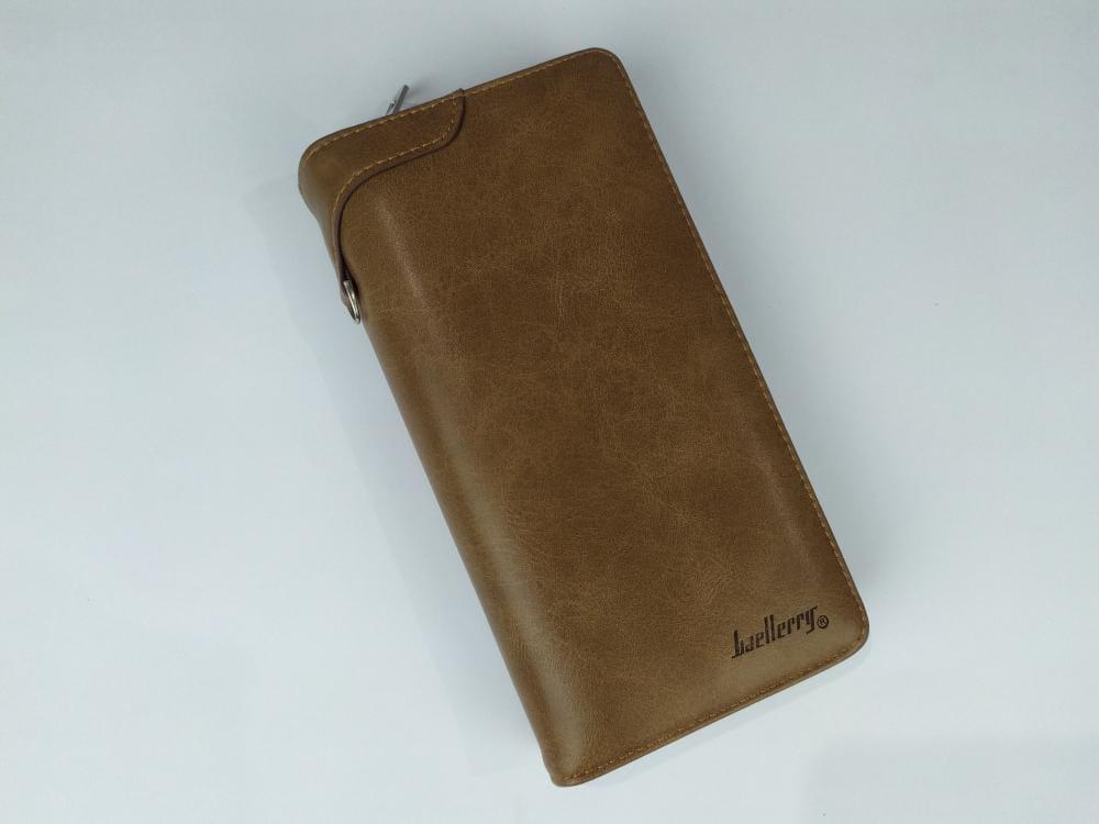 محفظة baellerry بسوستة و كبسولة داخلية لون هافان
