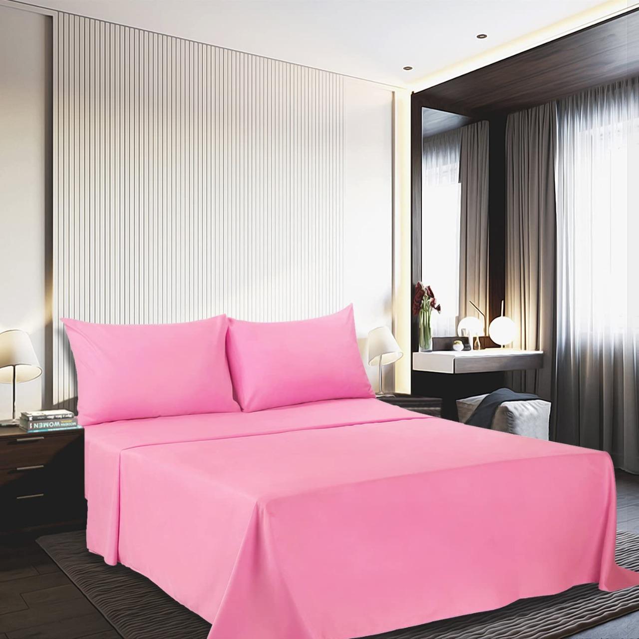 طقم ملاية سرير مزدوجة 4 قطع بامبي