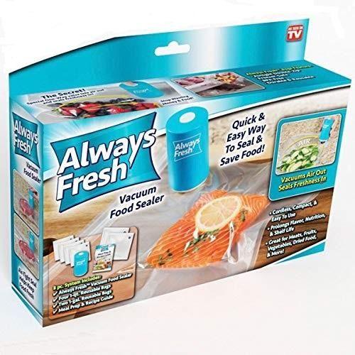 ماكينة فاكيوم لتعبئه الطعام Always Fresh