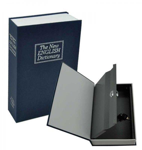 خزنة على شكل كتاب حجم وسط