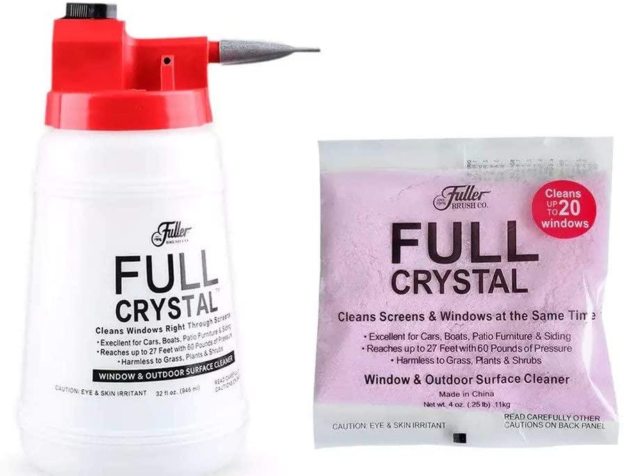 الرشاش الضاغط للمياه Full Crystal Window