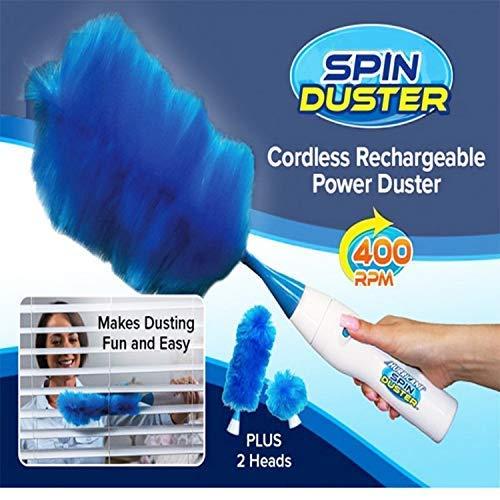 زعافة تنظيف الجديدة Hurricane Spin Duster