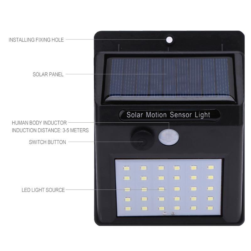 كشاف صغير يعمل بالطاقة الشمسية