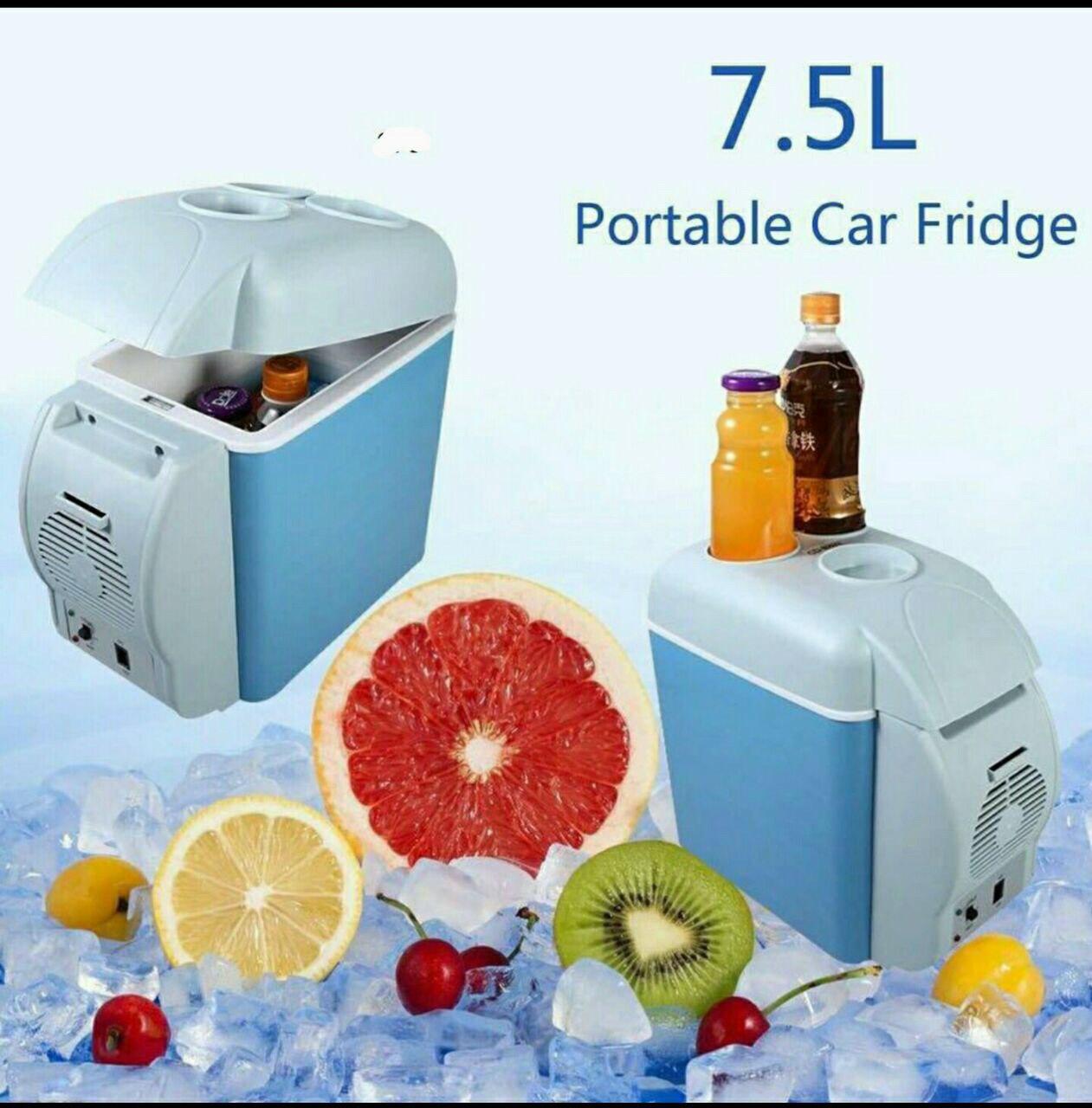 ثلاجة سيارة بارد و ساخن 7.5 لتر