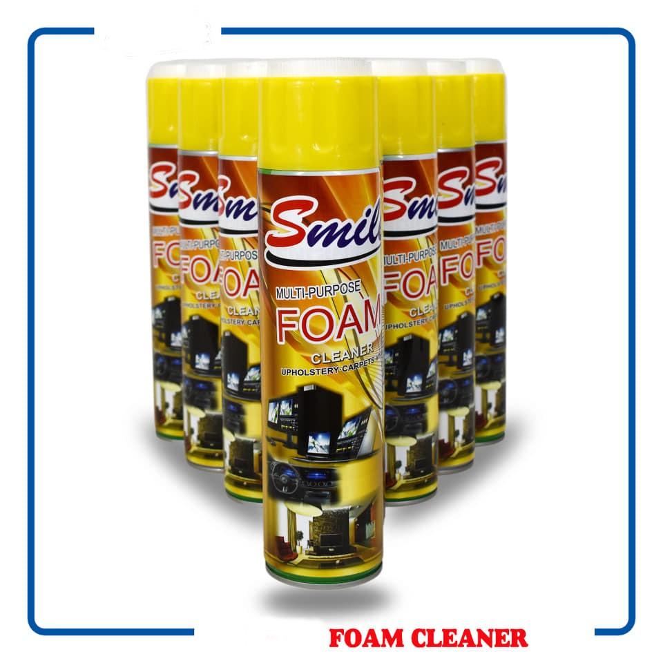 4 عبوات منظف فوم سمايل متعدد الأغراض Smile Foam