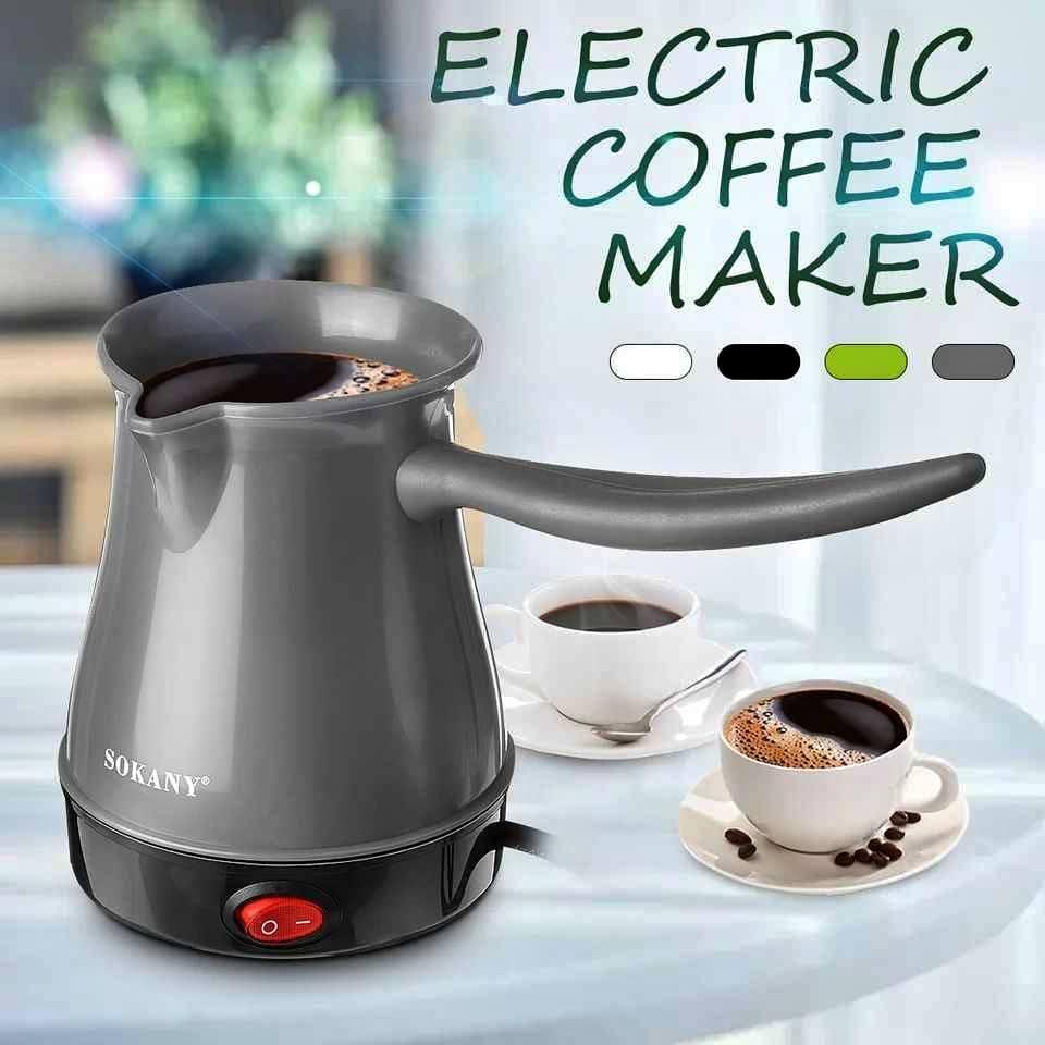 صانعة قهوة بلاستيك
