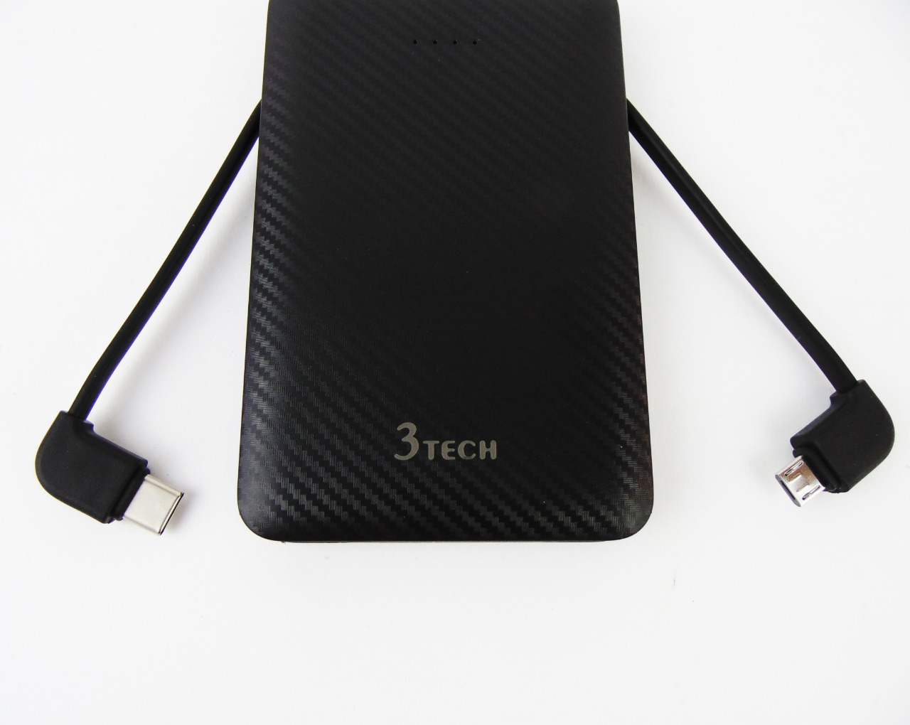 Power Bank 3Tech 5000mAh with 2 cables