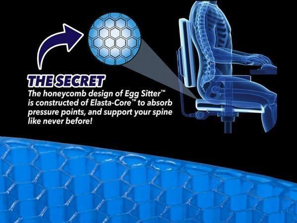وسادة كرسي سيليكون Egg Sitter