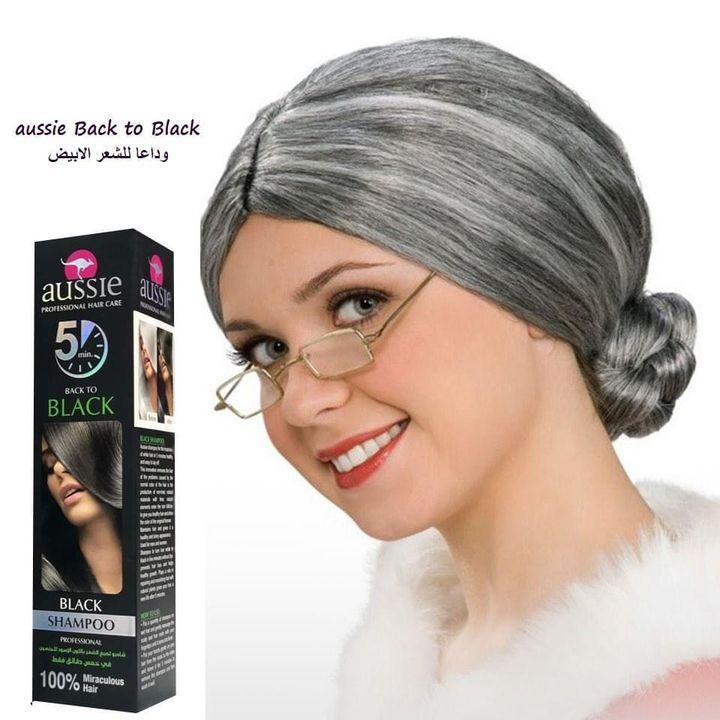 شامبو لصبغ الشعر باللون الاسود 500 مل