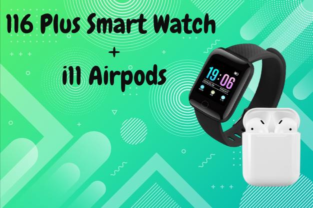 116 Smart Watch + i11 Airpods