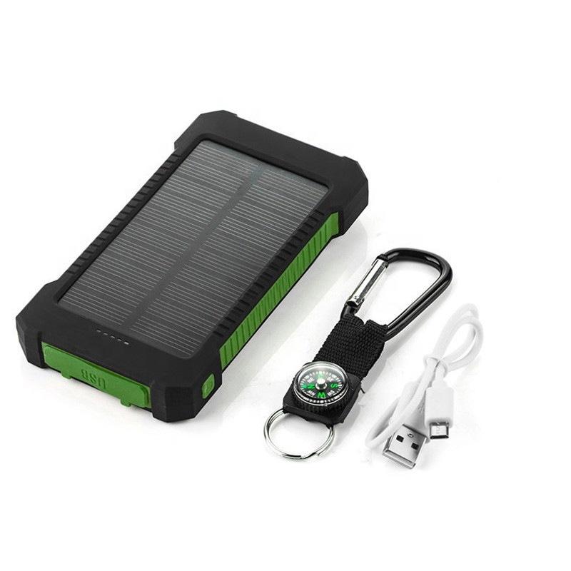 باور بانك يعمل بالطاقة الشمسية 8000 ملي أمبير