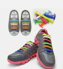 أربطة حذاء مرن 16 قطعه