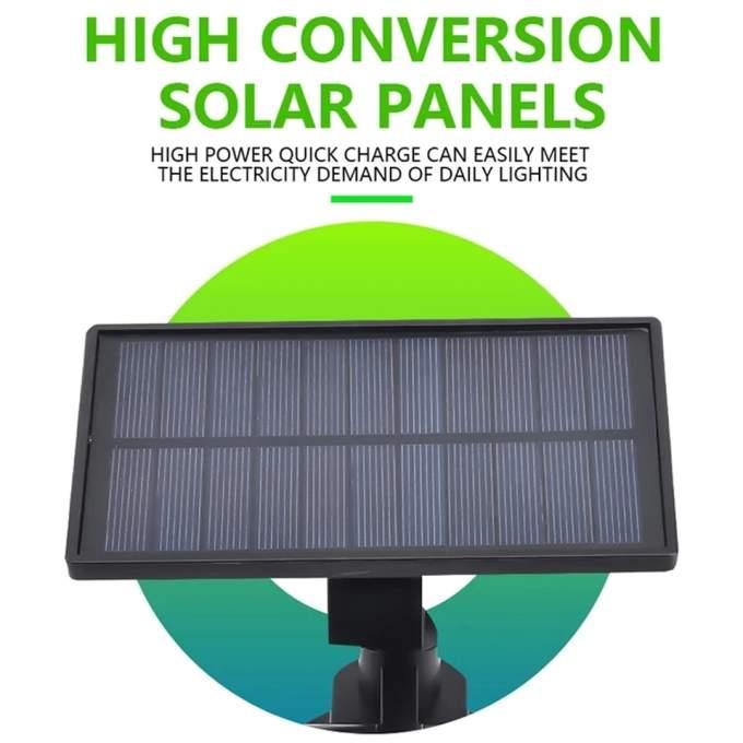 كشاف طاقة شمسية ثنائي مربع