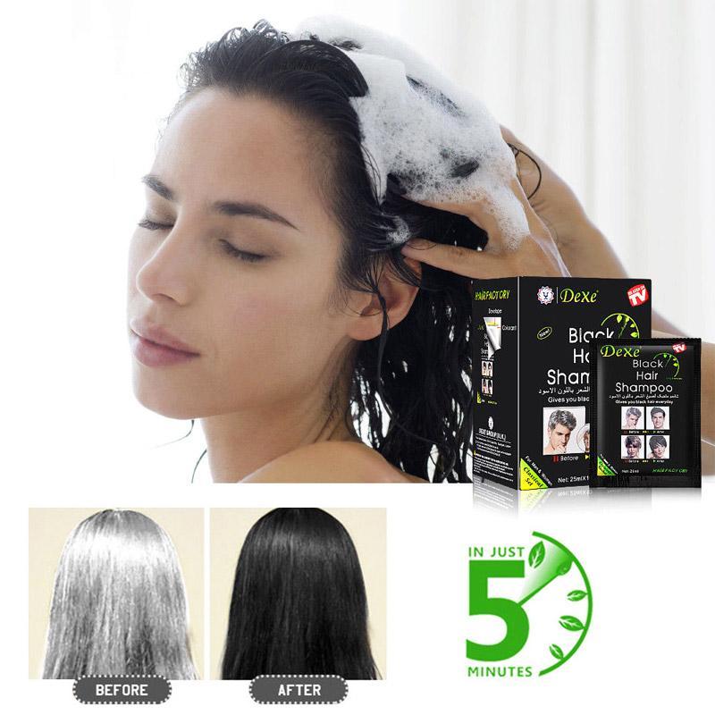 كيس شامبو Hair Factory لتغيير الشعر للون الاسود 25 مللي