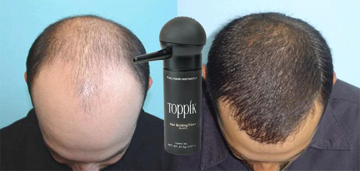 Toppik Hair Fibers لفراغات الشعر