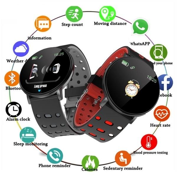 Smart Bracelet 119 PLUS أسود