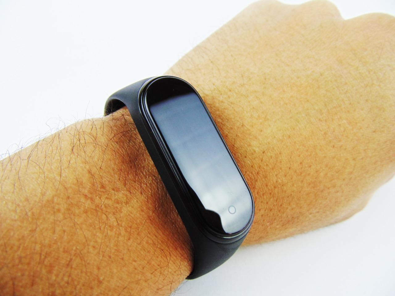 Smart Watch M4 band Lenosed أسود