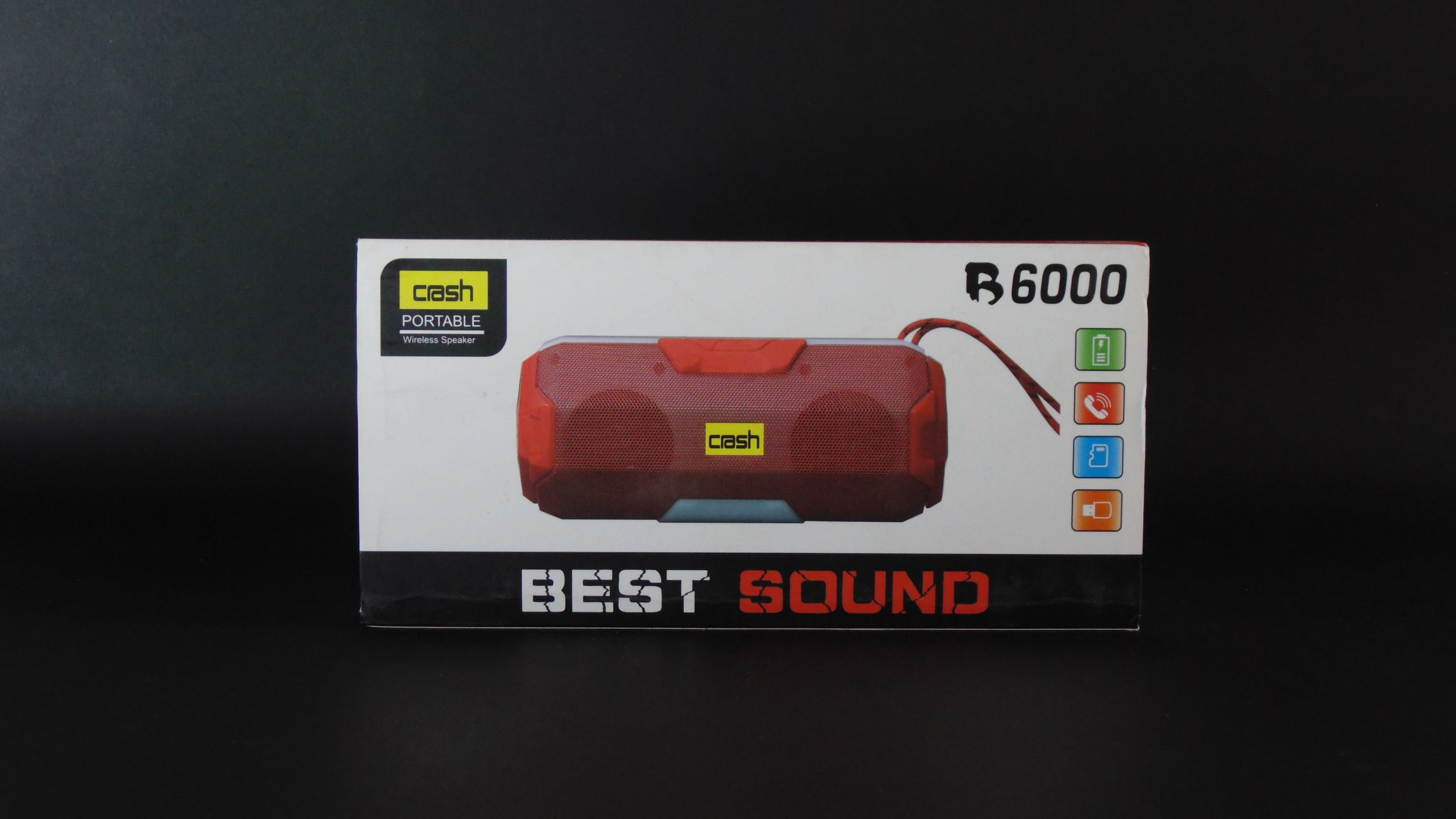Crash BT Speaker B6000