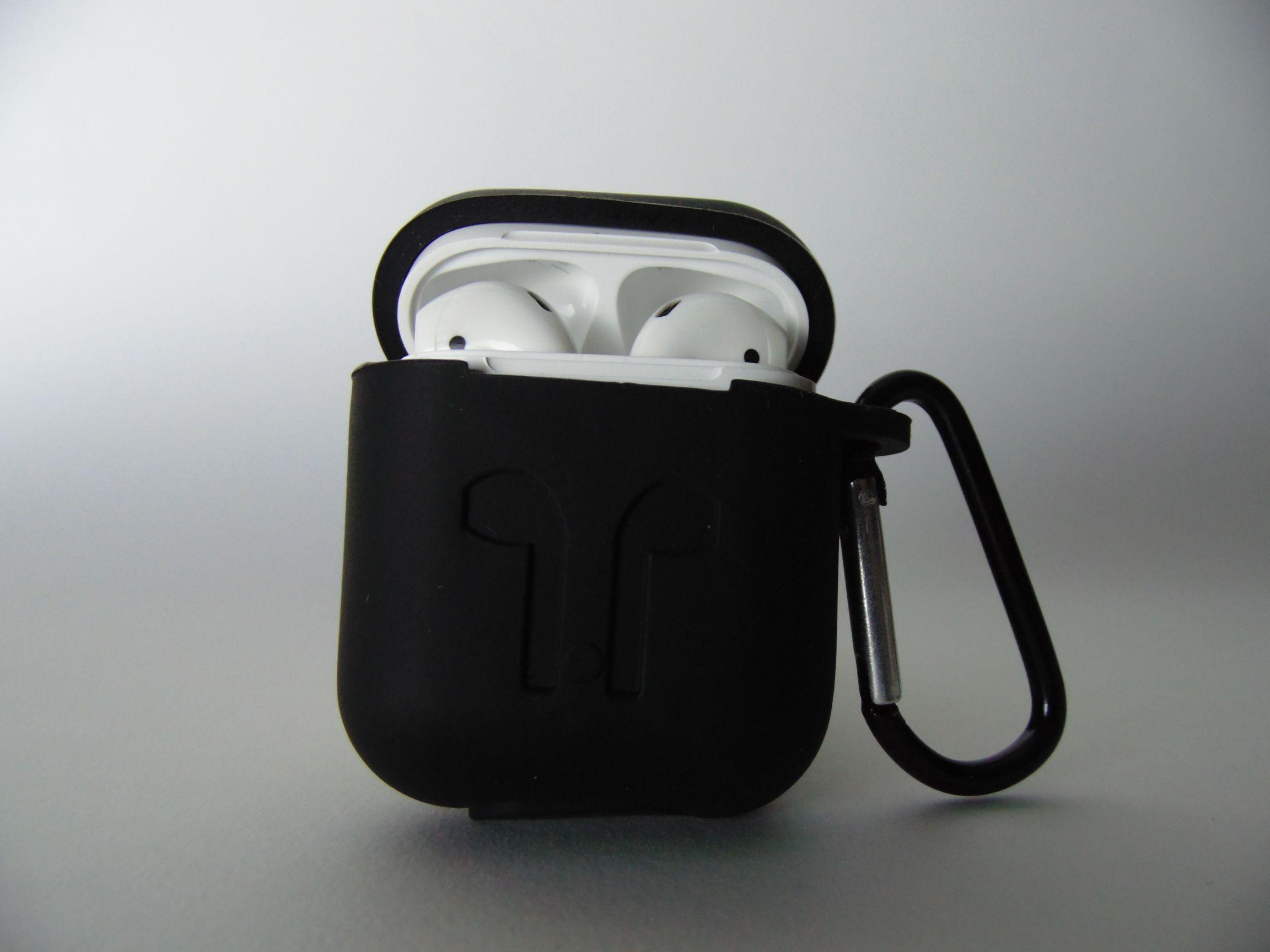 جراب Airpods أسود