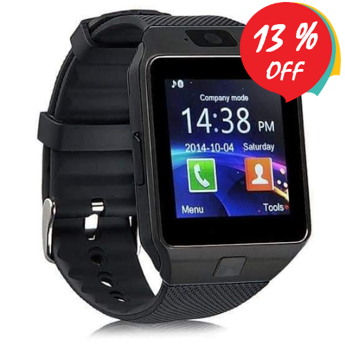 Smart Watch DZ09 أسود