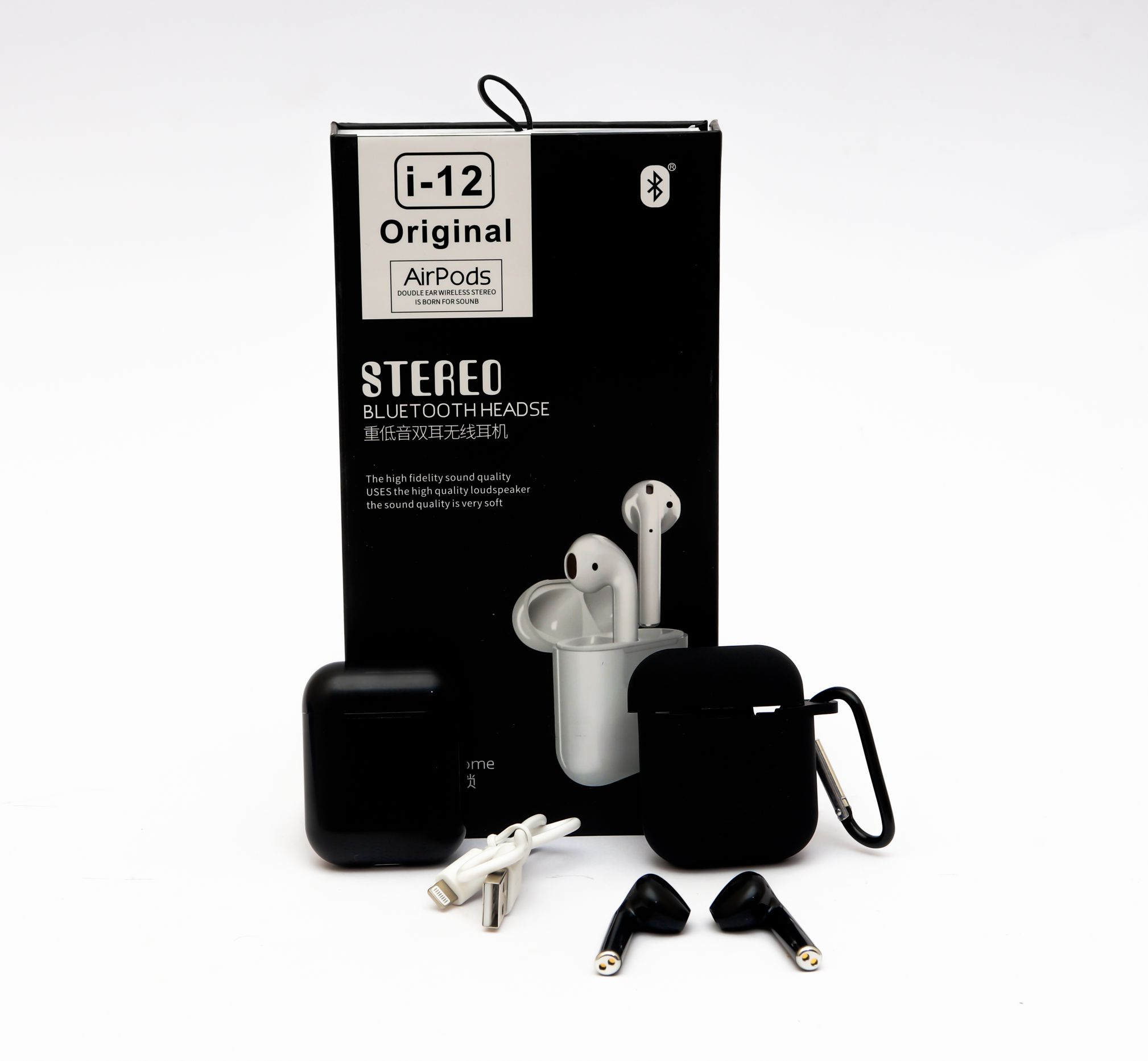 Airpods i12 Original Black