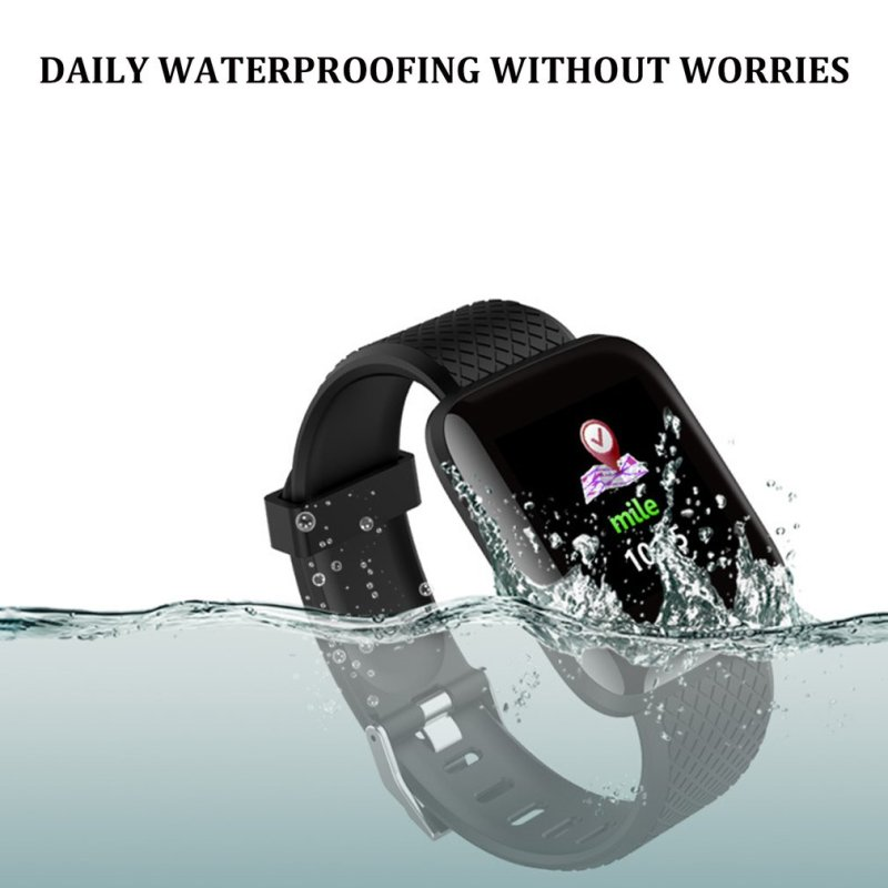"""Smart Bracelet LH719 أسود"""