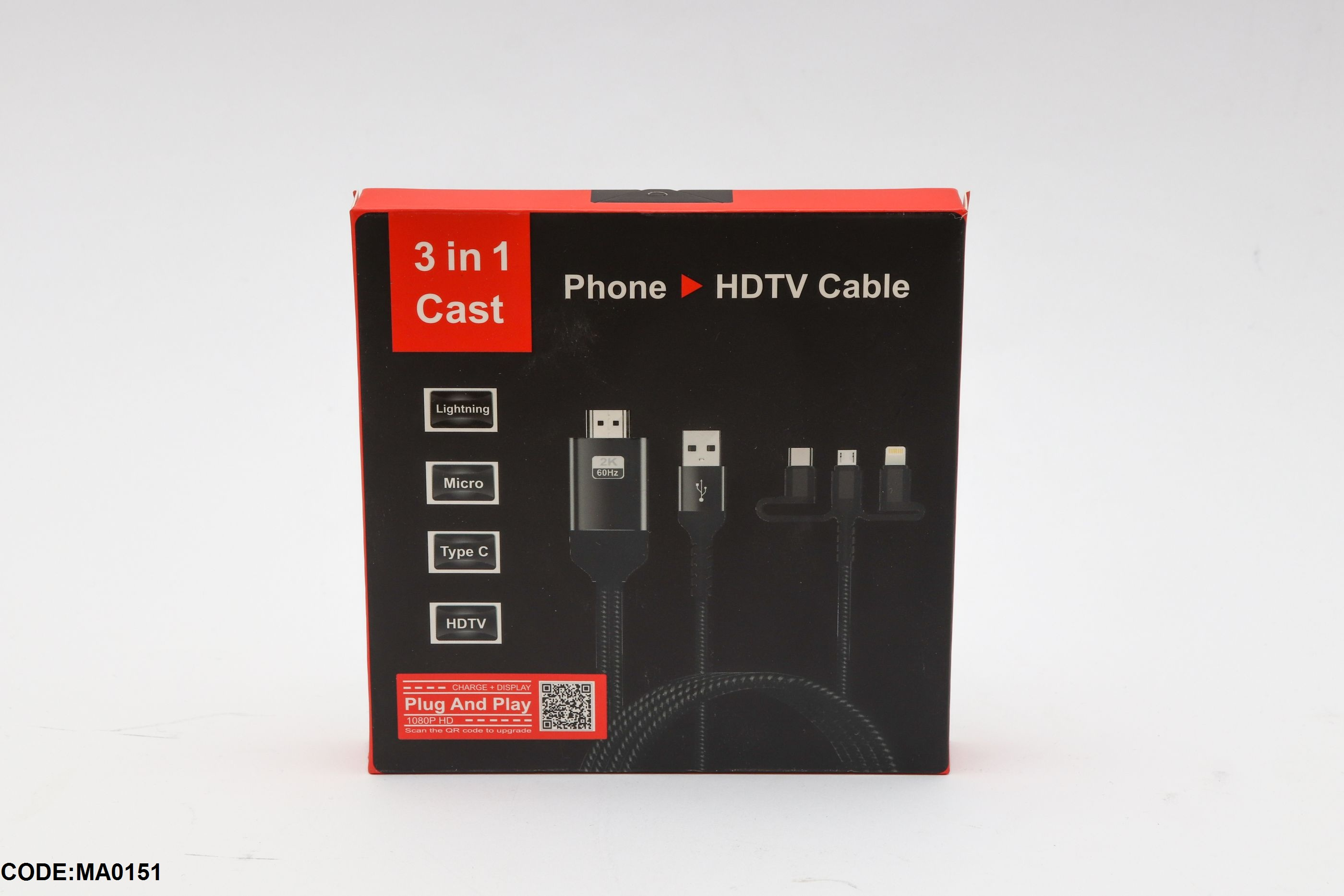 Phone HDTV Cable 3 in 1 Cast
