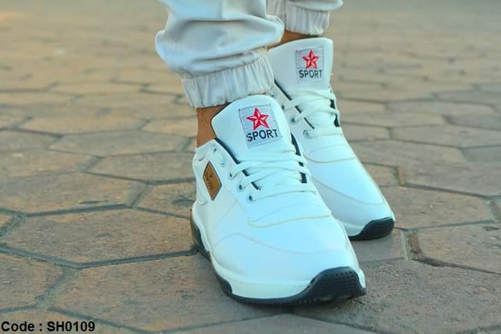 كوتشي شبابي Sport أبيض