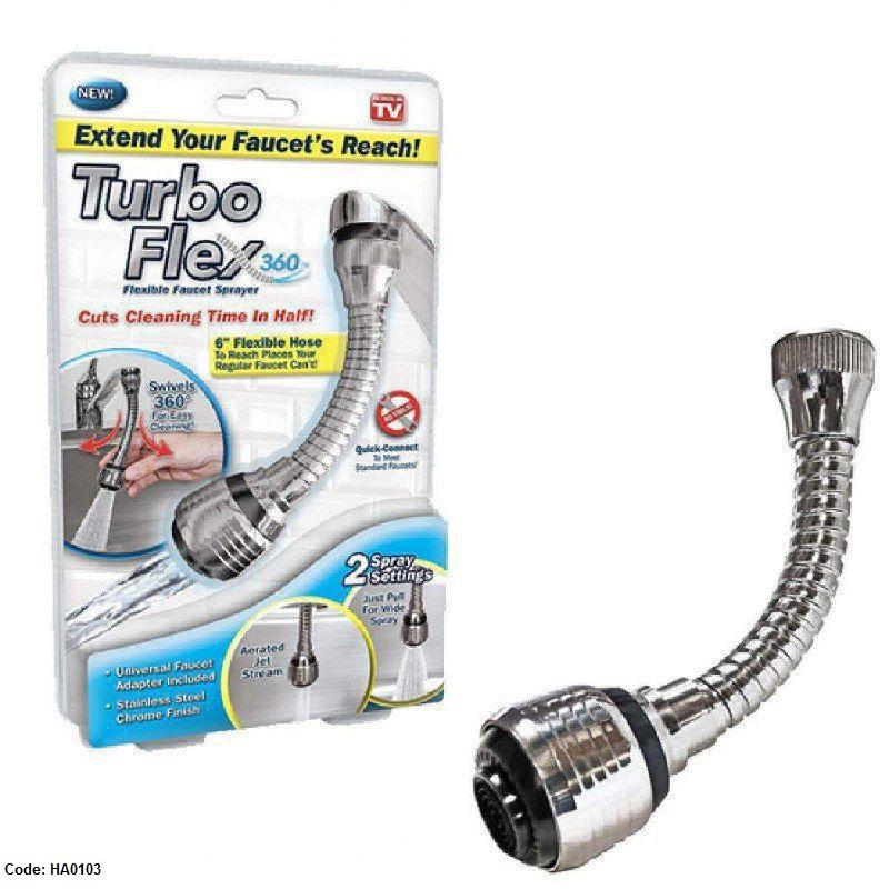 وصلة حنفية Turbo Flex 360