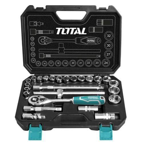 طقم  لقم عدة ربط متعدد الاستخدام  TOTAL