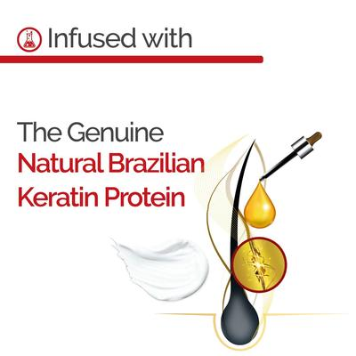 نوفكس شامبو بالكيراتين البرازيلي 300 مل