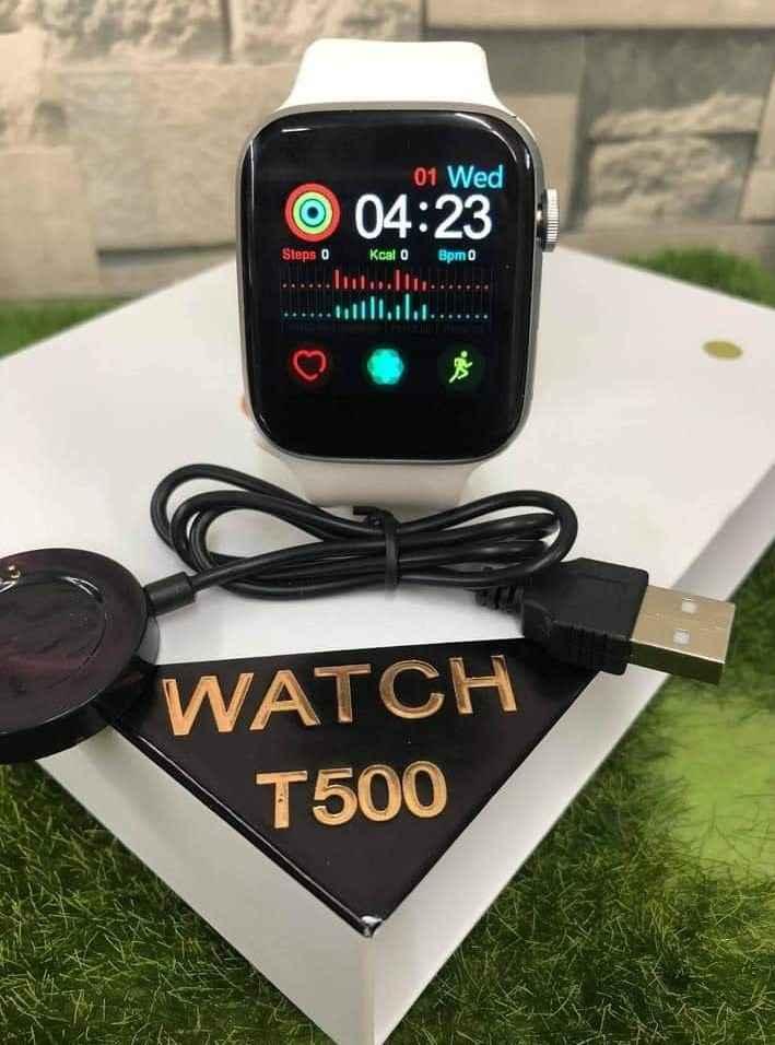 Smart Wtach T500 أسود